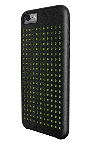 X-Doria Dash Vue PU Leder Schutzhülle für Apple iPhone 6S Plus und iPhone 6 Plus [14 cm], Black Dots