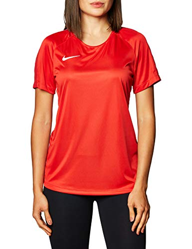 NIKE W NK Dry Acdmy18 Top SS T-Shirt, Hombre, University Red/Gym Red/White, S