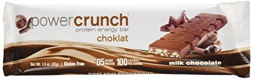 BioNutritional: Power Crunch Choklat Milk Chocolate bar 12ct