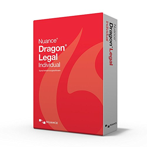 Nuance Dragon NaturallySpeaking Dragon Legal Individual 15 Upgrade
