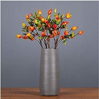 3 Pcs (21 pcs Fruits)--22 Inch Simulation Rose Berry Country Pastoral Style Decorative Desktop Floral Ornaments,Artificial...