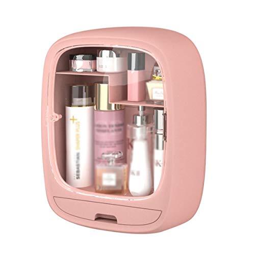 Nvshiyk Maquillage des boîtes de Rangement Boîte de Rangement cosmétique cosmétique Mural de la Salle de Bain sans Perfection de Toilette pour Meuble-lavabo et comptoir
