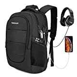 17,3 Zoll Laptop Rucksack Wasserdicht Herren Notebook Backpack Damen Schulrucksack 45L Anti...