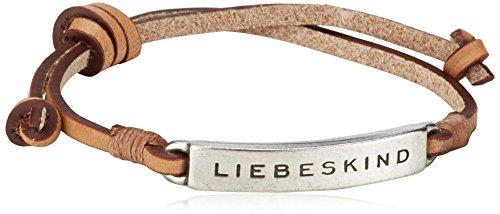 Liebeskind Berlin Ada silver Damen Armband, Pink (rose 0410)