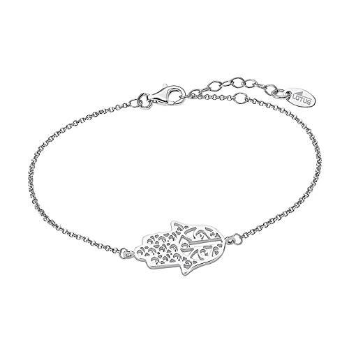 Lotus Silver Armband Damen LP1849-2/2 Hand der Fatima 925 Silber D1JLP1849-2-2 Silber Armschmuck von Lotus Silver für die Frau