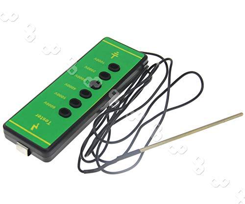 Be In Your Mind 1000 V-6000 V Elektrozaun Spannungsprüfer Digitales Messgerät