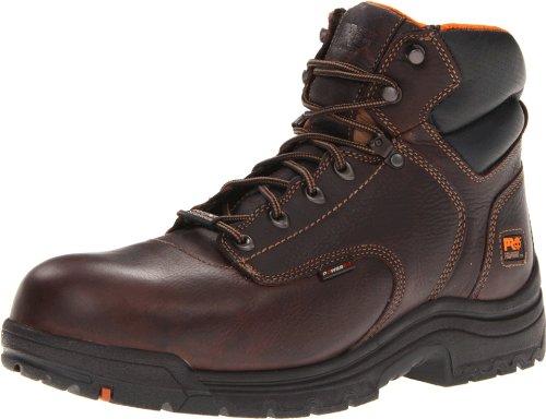 Timberland PRO Men's 90665 Work Boot,Dark Brown,15 M US