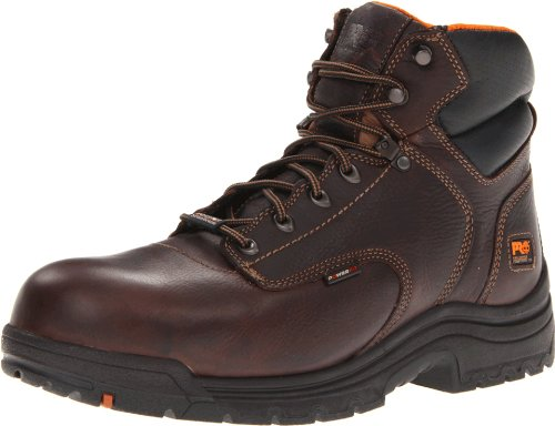 Timberland PRO Men's 90665 Work Boot,Dark Brown,15 M US
