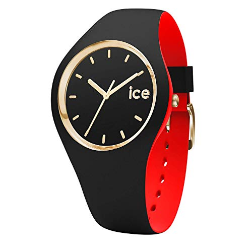 Ice-Watch - ICE loulou Black Gold - Reloj nero para Mujer con Correa de silicona - 007235 (Medium)