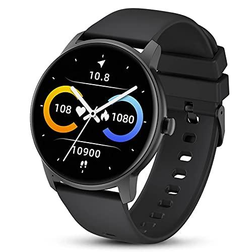 ZGZYL KW77 Hombre Smart Reloj con Presión Arterial Y Oxígeno En La Sangre Ritmo Cardíaco Smart Watch Activity Tracker Fitness Watch Step Calorie IP68 Reloj Deportivo Impermeable,A