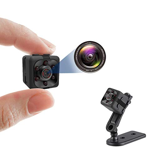 Sinoeem Mini Spy Camera, Hidden Camera 1080P, Nanny Cam Full HD with Night Vision Motion Activation for Indoor Outdoor Covert Security Cameras
