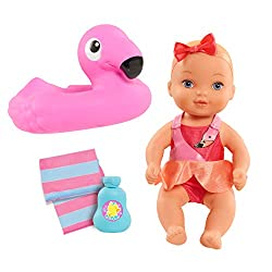 commercial Water Baby Flamingo Bus Fan dolls for bathtub