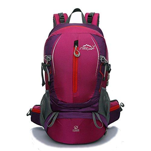LYY Sac à Dos de Sac d'alpinisme extérieur Sac à Dos de Sport décontracté imperméable Durable, Pink