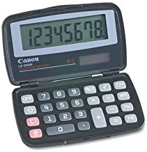 Canon 4009A006AA LS555H Handheld Foldable Pocket Calculator, 8-Digit LCD