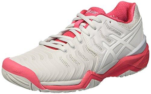 Asics Gel-Resolution 7, Zapatillas de Tenis Mujer, Gris...