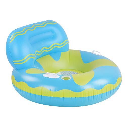 01 Sofá de Agua Inflable, Fila Flotante de PVC Duradero, Empresa Inflable ecológica para Surfear, Practicar Surf recreativo, Tomar el Sol, Uso Profesional