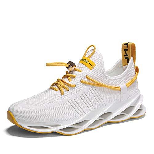 N-B Rápido Zapatos de Correr Zapatos de Deporte de los Hombres Profesionales Zapatos de Correr de Absorción de Choques Hoja de Amortiguación