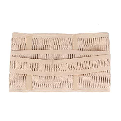 Cinturón de abdomen posparto, cinturón recortador de cintura transpirable sin rastros con 4 aleaciones de memoria para la recuperación posparto