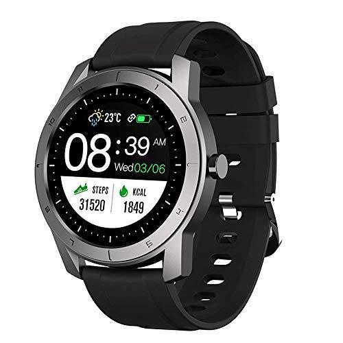 Reloj inteligente relojes inteligentes inalámbricos pantalla táctil 1.05 pulgadas cámara impermeable prueba polvo IP67 pulsera deportiva con seguimiento actividad física para hombres mujeres y niños