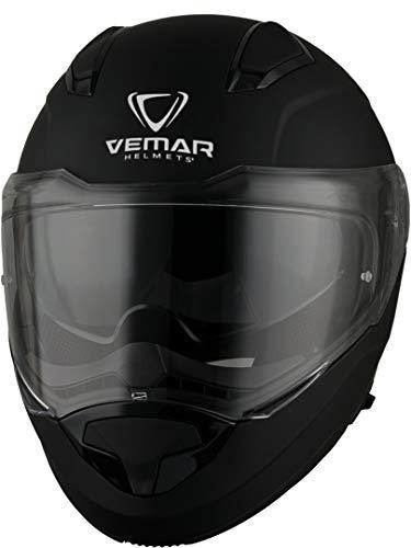 Vemar Sharki Solid casco Nero opaco