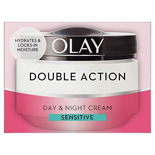 Olay Double Action Day & Night Sensitive Cream, 50ml