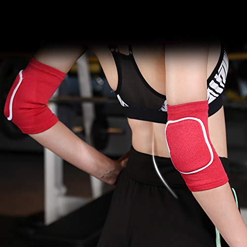 Omenluck 1 Pair Elbow Support Arm Stabilizer Cubital Tunnel Elbow Splint Anti Fall For Cycling Playing Basketball