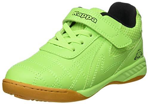 Kappa Unisex Kinder FURBO OC Sneaker, 3011 Green/Black,28 EU