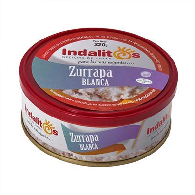 Indalitos - Zurrapa Blanca - Bandeja 5 Latas 220 g