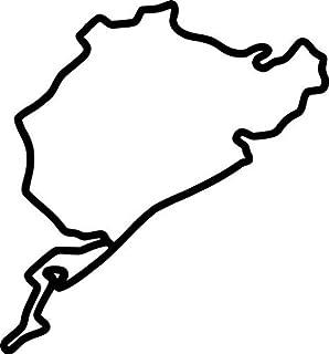 Suchergebnis Auf Amazonde Für Nordschleife Aufkleber