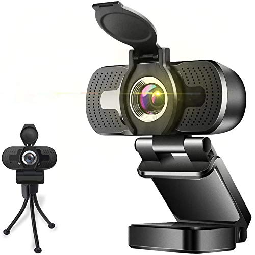Aode Full HD Webcam 1080p Videokamera mit Abdeckung Autofokus USB Webcam mit Mikrofon Plug and Play Webkamera fur Desktop Mac Kamera fur Skype Konferenzen Twitch Streaming Ubertragungen Videoanruf