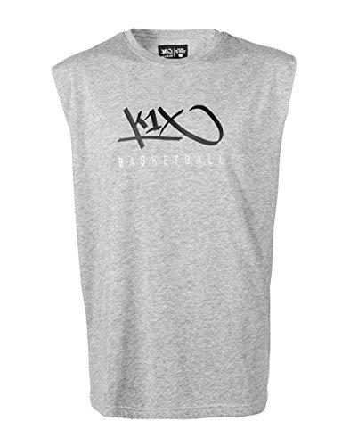 K1X Hardwood Sleeveless Grey Heather