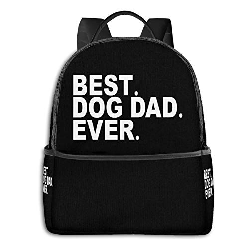 Best Dog Dad Gift Coolfashion School Backpack Unisex Classic Lightweight Backpack Printing Cute for Boys Girls High School College Schoolbag Sloth