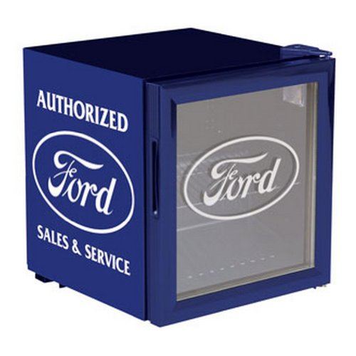 Classic Ford Beverage Cooler, Blue