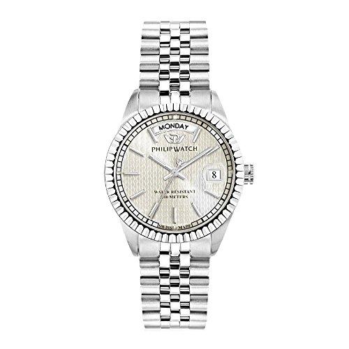 PHILIP WATCH Damen Analog Quarz Uhr mit Edelstahl Armband R8253597530