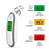 Digital Forehead and Ear Thermometer Medical Infrared Thermometer for Baby Kids and Adults