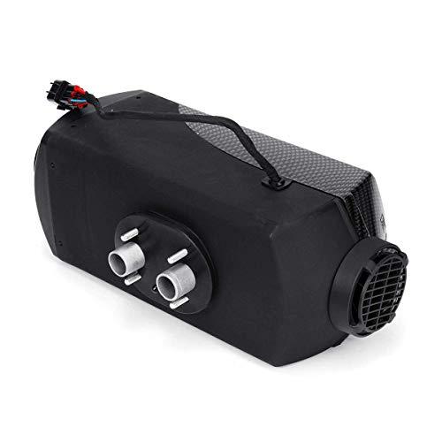 YAJIWU Calentador de coche descongelador, 12 V 8 KW diesel calentador de aire termostato de control exterior para coche, camión, autocaravana, barco, calentador portátil de coche