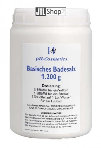 ph-cosmetics Basisches Badesalz Original 1200 g