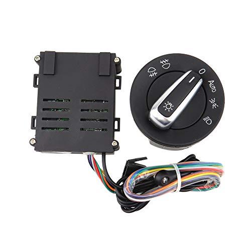 TOOGOO Auto Automatik Automatische Scheinwerfer Sensor Knopf Schalter Steuer Modul für 4 Mk4 Jetta Mk4 Passat B5 Balo Bora K?fer T5 T5.1 Transporter5Nd941431B