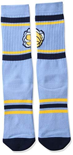 NBA Boston Celtics Unisex Stripe Crew Socks, Multicolor, Large