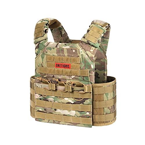 OneTigris Multicam Tactical Vest (Multicam)