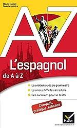 L'espagnol de A à Z - Grammaire, conjugaison et difficultés de Claude Mariani