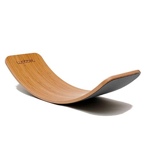 Wobbel Board: Wobbel Original Bambus mouse grau