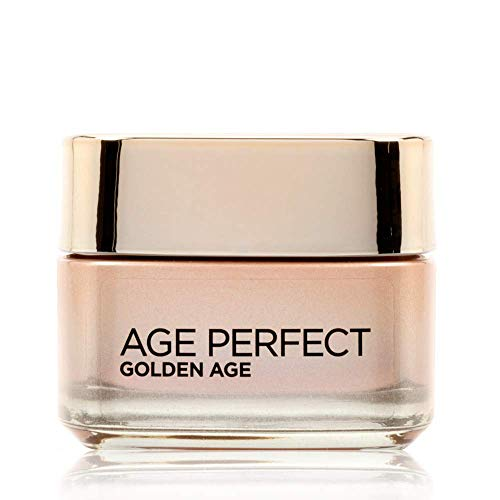 L Oréal Paris Crema Viso Giorno Age Perfect Golden Age, Trattamento Fortificante, Adatto a Pelli Mature, 50 ml
