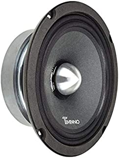 $34 » TIMPANO TPT-MR6-4 Bullet 6.5″ Midrange Speaker Pro Audio - 6.5 inch Mid Range Loudspeaker for Car Audio - 4 Ohms, 125 Watt...
