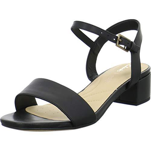 Clarks Damen Clarks Orabella Iris Sandals schwarz 4.5 uk