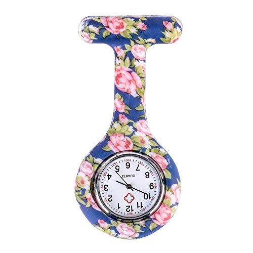 Nurse Watch Brooch, Silicone with Pin/Clip, Health Care...