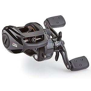 Abu Garcia PMAX3-L Pro Max Low-Profile Baitcast Fishing Reel, Left Hand,Gold,Black