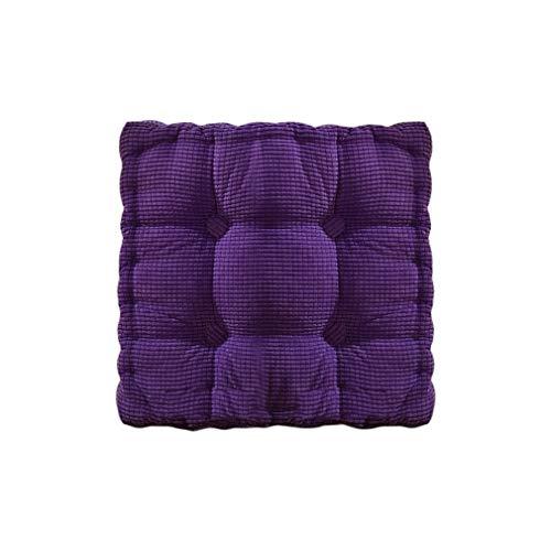 Yywl New Solid Color - Cojín para silla de comedor (50 cm)