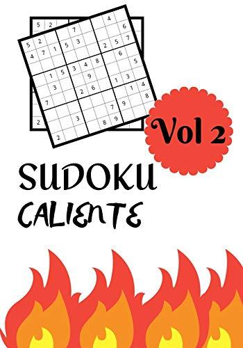 SUDOKU CALIENTE: Vol 2   Nivel dificil con soluciones