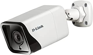D-Link DCS-4714E Vigilance 4 Megapixel H.265 Outdoor Bullet Camera with 2592 x 1520 resolution, 30m Night Vision, H.265, W...